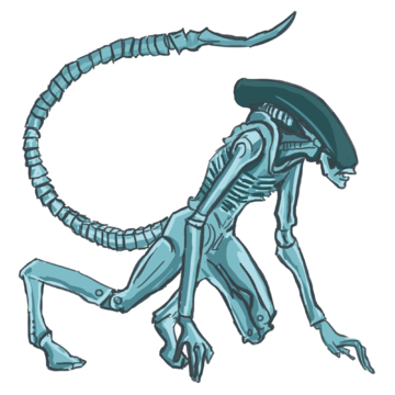 SCARY ALIEN TAILS 4