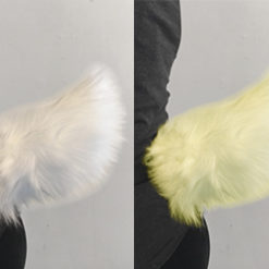 moving bunny tail