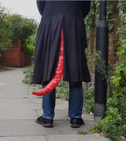 hellboy tails