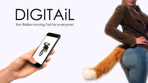 DIGITAiL - INCREDIBLE APP CONTROLLED TAIL - NAKED 2