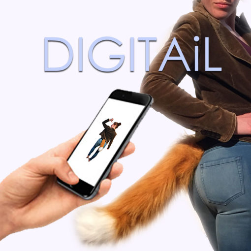 DIGITAiL Cosplay Tail from the Tail Company