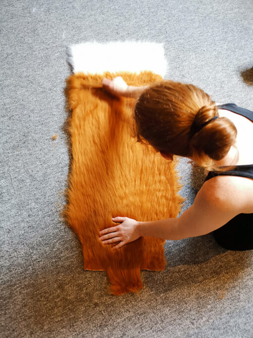 Making a Tail Company Fox tail