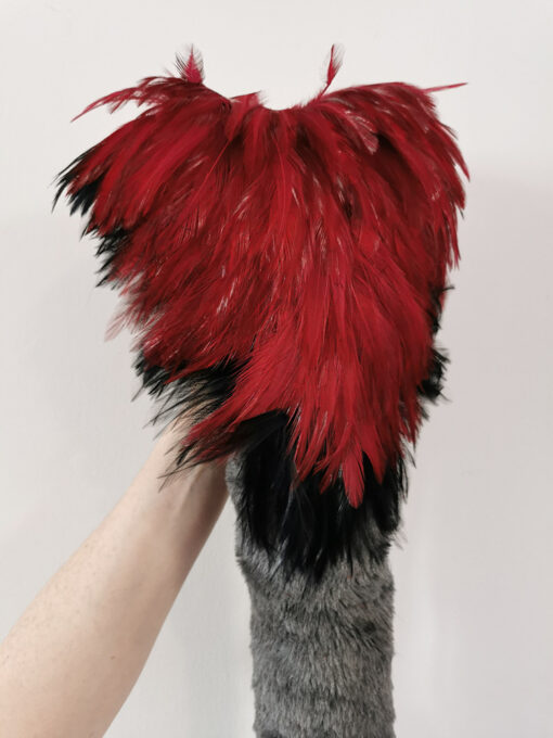 Red Black Gryphon by The Tail Company